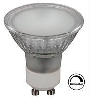 Диммируемая светодиодная лампа CIVILIGHT DGU10 KC75T6 матова CRI80 3000К 220VAC 6W 9894