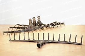 Веерные пластмассовые грабли на 15 зубьев большие без держака Черновцы