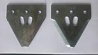 Сегмент жатки Z93077 (средняя насечка) (Z52672/ 06503530 /Z47493/ AZ41727/ 635201/ 86561692/ 10961)