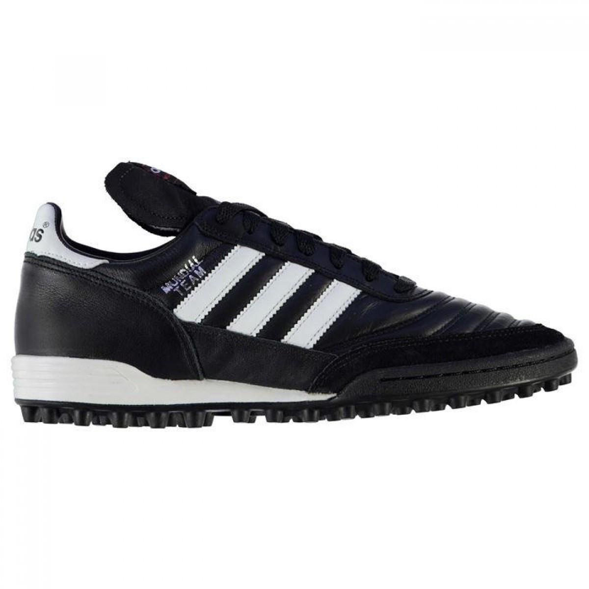 Бутсы Adidas Mundial Team Astro Turf Black White - Оригинал — в ... 5037811bab5e2