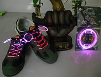 Светящиеся шнурки (ВСЕ ЦВЕТА В ОДНОМ led светодиодные), фото 1