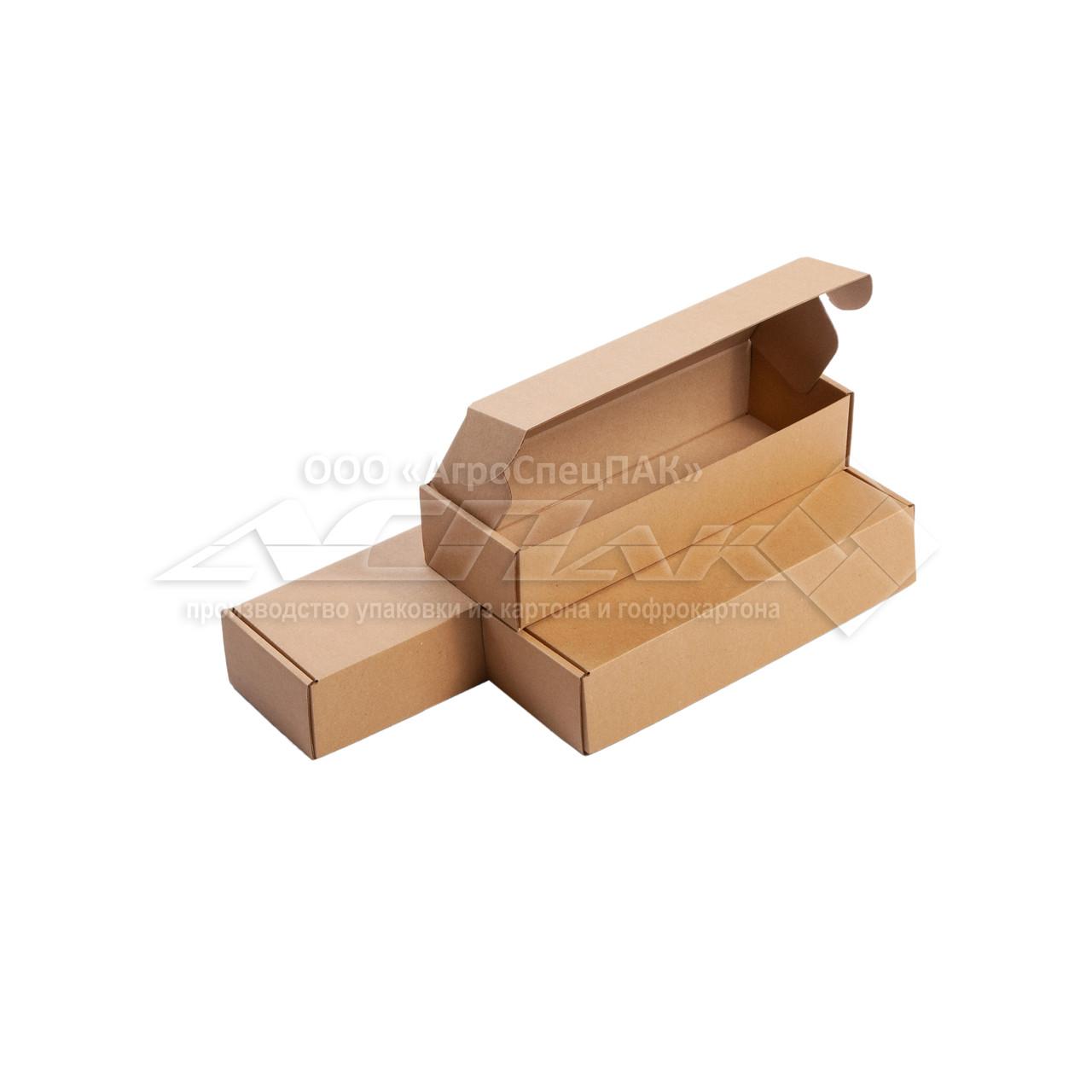 Самосборные коробки 255*87*55 бурые