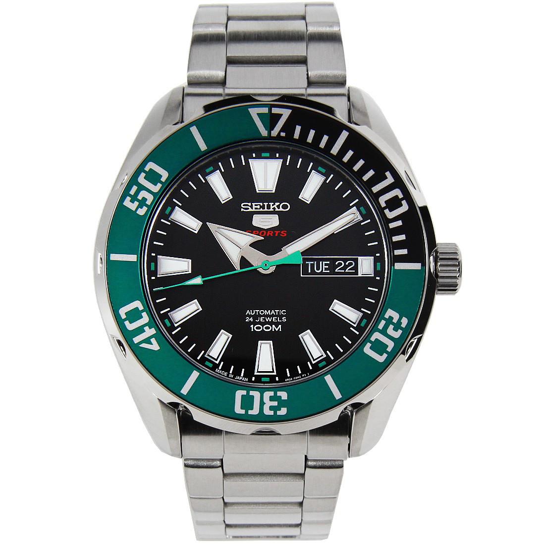 Часы Seiko 5 Sports SRPC53J1 Automatic 4R36