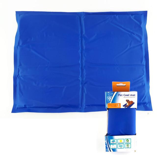 Охлаждающий коврик лежак для собак и кошек Pet Cool Mat. - фото 2