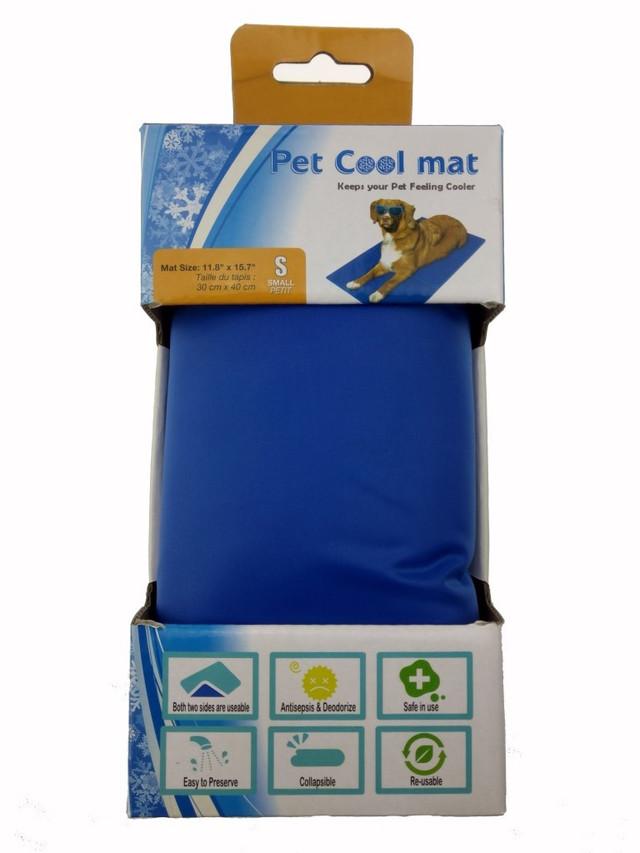 Охлаждающий коврик лежак для собак и кошек Pet Cool Mat. - фото 3