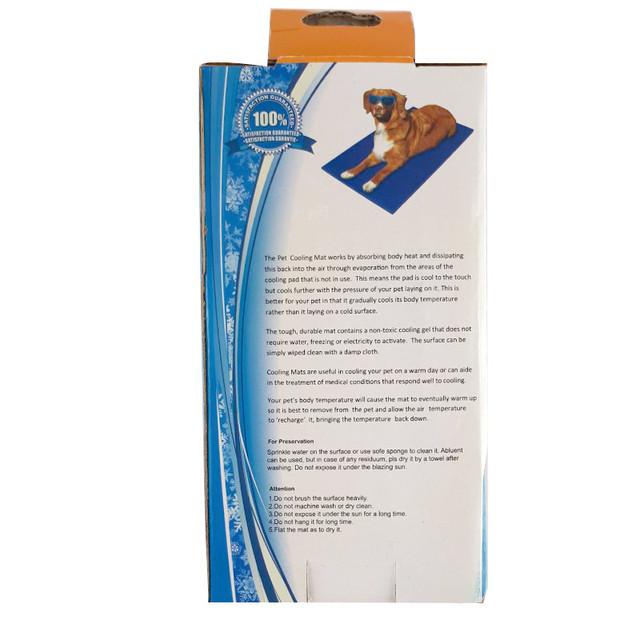 Охлаждающий коврик лежак для собак и кошек Pet Cool Mat. - фото 4