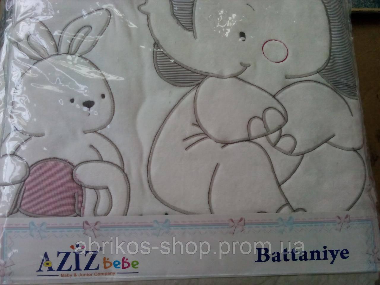 Плед   для новорожденного (Турция ) AZIZ)