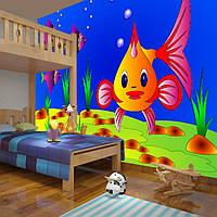 "3D фотообои ""Яркая рыбка"""