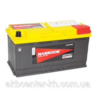Автомобильный аккумулятор HANKOOK Start Stop 6СТ- 95А2 850А R AGM