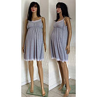 Ночная сорочка из хлопкадля беременных и кормящих мам 44-52 р