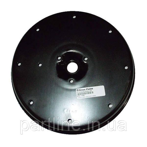Полудиск колеса прикат. (GD11423/A56621/GD1048/700727660/87604612/A22780), Kinze, JD, арт. 814-175C