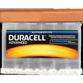 Автомобильные аккумуляторы DURACELL Advance DA 63 UK027