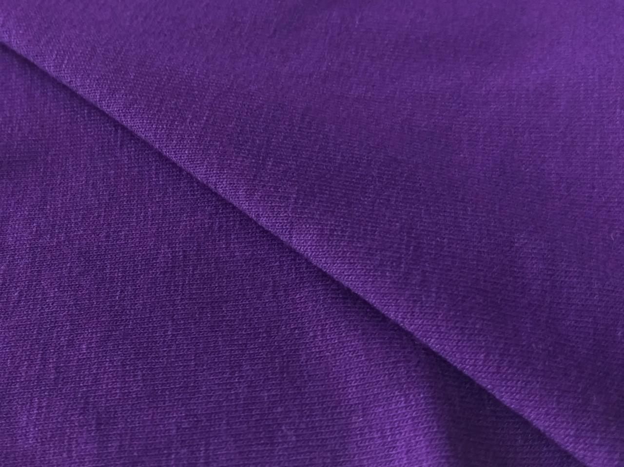 Вискозный трикотаж джерси, фиолетовый