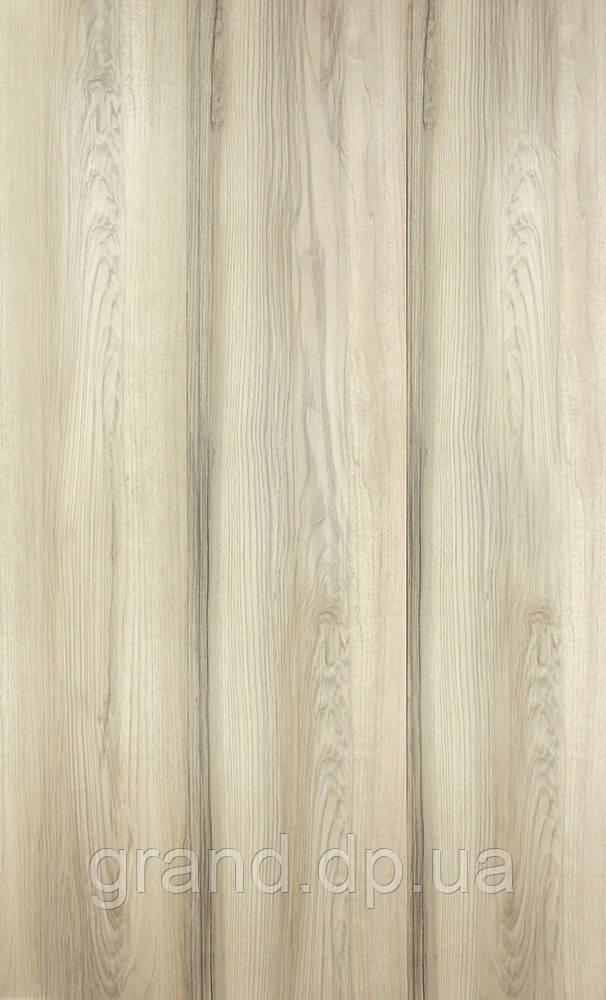 Стеновая Панель МДФ Коллекция Премиум 198мм*5,5мм*2600мм цвет ясень орегон