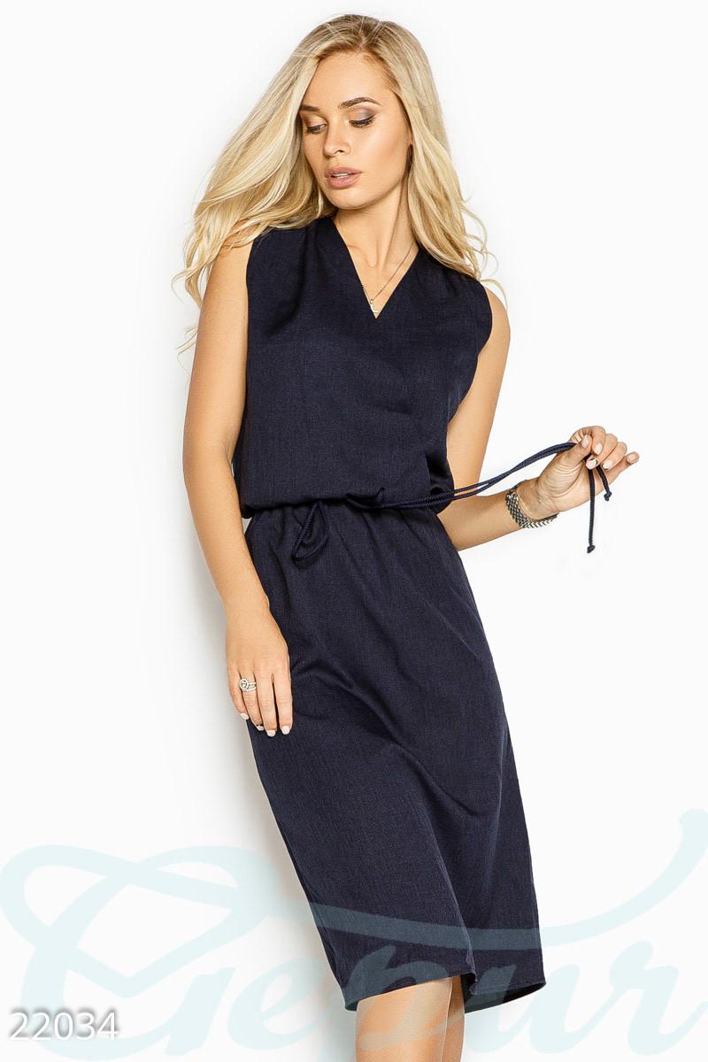Строгое платье-миди
