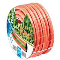 Шланг поливочный РАДУГА 5/8 20 м армированный ПВХ 3 слойный EVCI PLASTIK для сада и дачи