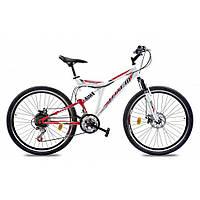 Велосипед горный (MTB), кросс-кантри Totem Spirit AMT 24 / рама 15 белый/красный