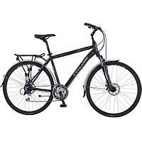 Велосипед городской дорожный Cyclone Discovery Disc 28   рама 20 черный 919fb66ea2b43
