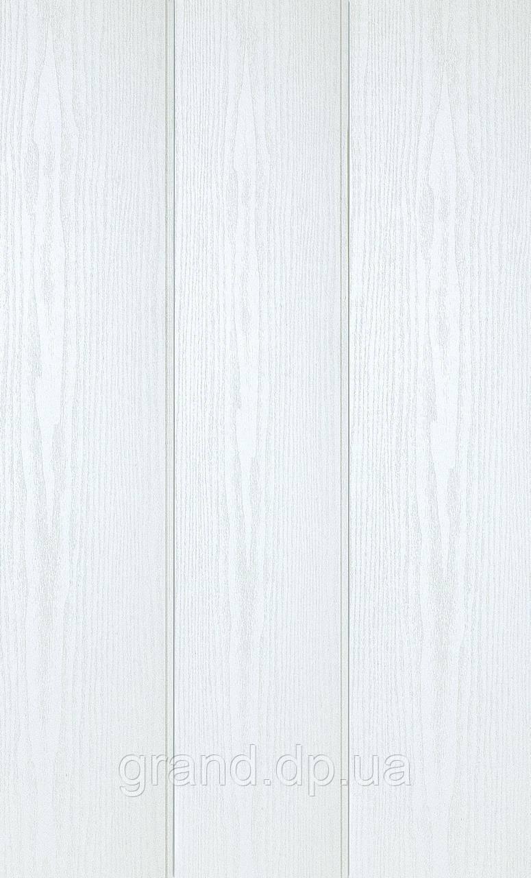 Стеновая Панель МДФ Коллекция Триумф в ПВХ пленке 238мм*5,5мм*2600мм цвет ясень перламутр
