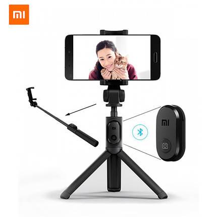 Трипод для селфи Xiaomi Mi Selfie Stick Tripod монопод XMZPG01YM (Черный), фото 2
