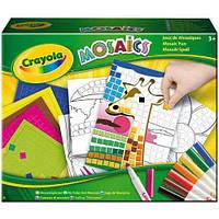 Набор для творчества Crayola Забавная мозаика с фломастерами 04-1008. Оригинал
