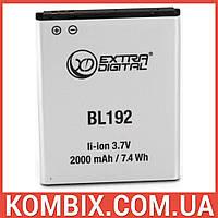 Аккумулятор Lenovo BL192 | Extradigital, фото 1