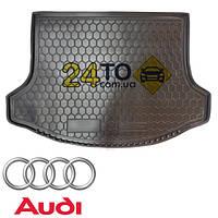 Коврик в багажник для AUDI A6 (100) (1994-1997г.) резинопластиковый (Avto-Gumm), Ауди А6