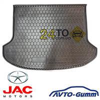 Коврик в багажник для JAC S 3 резинопластиковый (Avto-Gumm), Джак С3