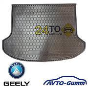 🚘 Коврик в багажник для GEELY GC- 6 (2014-...) (MK) резинопластиковый (Avto-Gumm), Джили