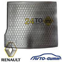 🚘 Коврик в багажник для RENAULT Duster 2WD резинопластиковый (Avto-Gumm), Рено Дастер