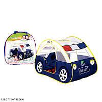 Палатка детская Полицейская машина отличного качества  - прекрасный подарок для мальчика