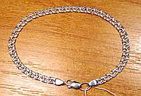 Браслет БИСМАРК серебро 925 пробы 20см 4.76г, фото 1