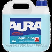 Вологозахисна ґрунтовка Aura AquaGrund (Аура Аквагрунт) 10л
