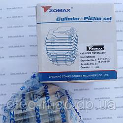 Цилиндр в сборе на бензопилу Zomax 5020 аналог Goodluck 5200(45мм) артикул 111366, zomax