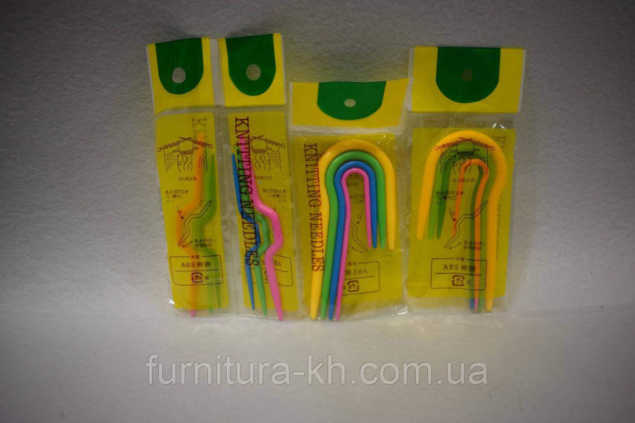 Крючки дополнительные для вязания кос