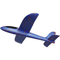 Планер метательный SUNROZ Большой 48 см, летающий саолетик, плнер, самолет, детский планер, детский самолет