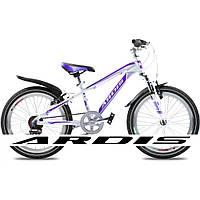 Велосипед горный (MTB), кросс-кантри Ardis Avalanch MTB 20 / рама 11 белый/сиреневый
