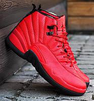 Баскетбольные кроссовки в стиле Nike Air Jordan 12 Retro Red/Black