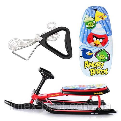 Детский снегокат MS 0898 Angry Birds