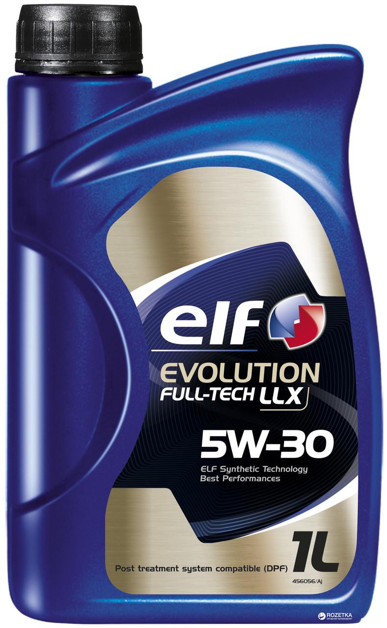 Моторное масло ELF 5w30 Evolution Full Tech LLX 1л
