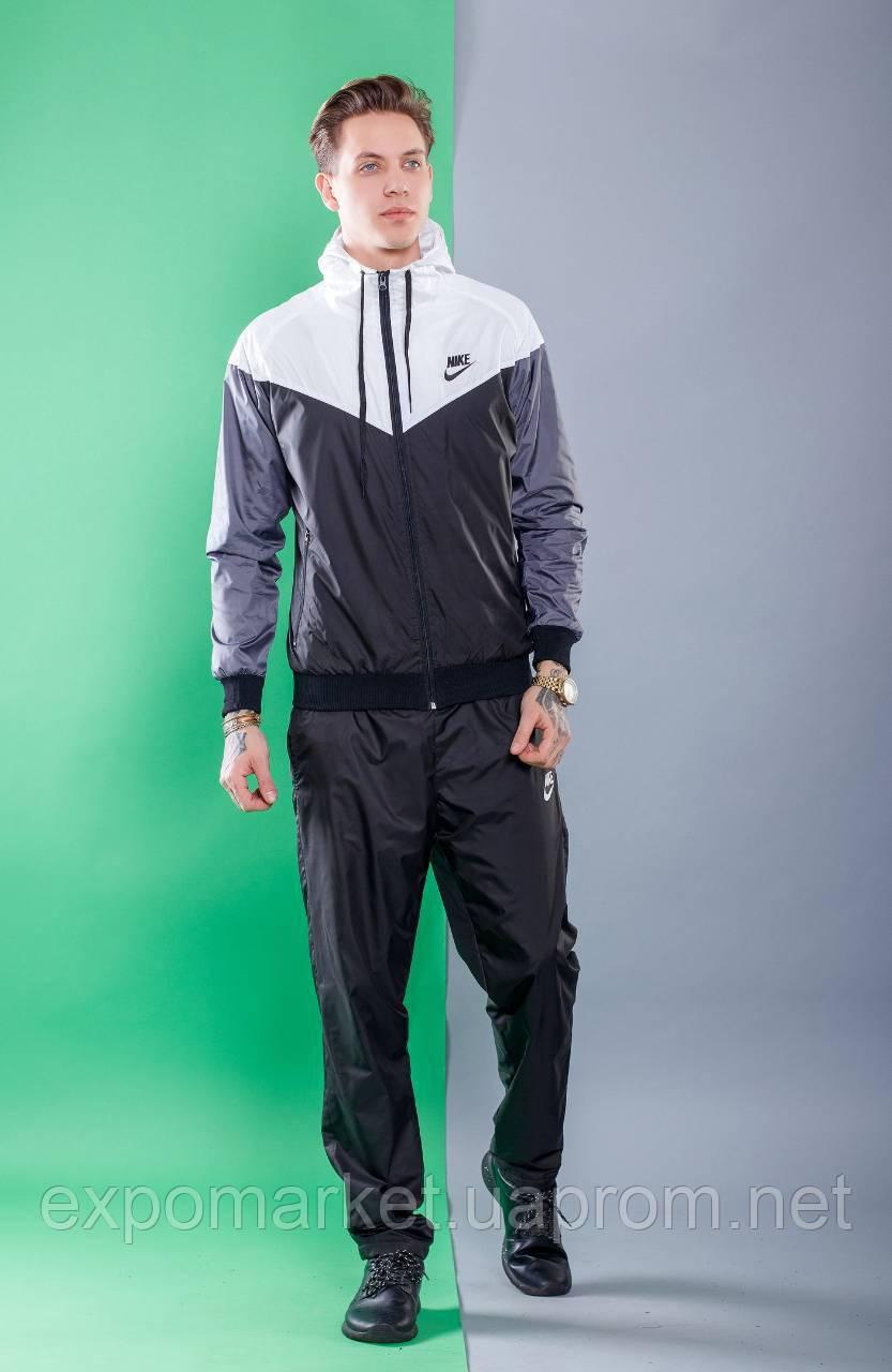 7fc704f9 Мужской спортивный костюм Nike весна-лето плащевка, мужской ...