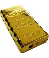 Зажигалка газовая слиток золота №2871