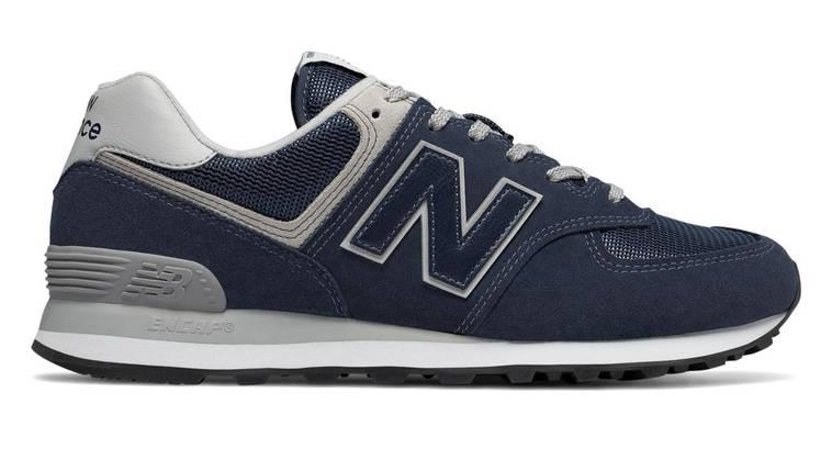 Оригинальные кроссовки NEW BALANCE ML574EGN Navy Синие, фото 2