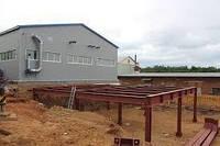 Строительство ангаров в Полтаве  Склад  каркасное здание  ангар не дорого