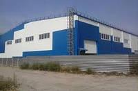 Ремонт производственных помещений  ремонт цеха  Склад  каркасное здание  ангар не дорого