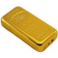 Зажигалка газовая слиток золота №2904