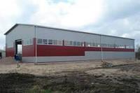 Строительство ангаров в Чернигове  Склад  каркасное здание  ангар не дорого