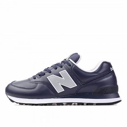 Оригинальные кроссовки NEW BALANCE ML574LPN Cиние, фото 2
