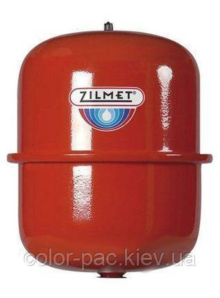 Бак Zilmet cal-pro для систем отопления 50 л 4bar круглый, фото 2