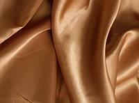 Ткань атлас однотонный бронзовый (портьера)